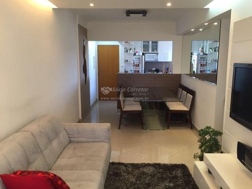 Imagem 1 de 14 de Apto 75m² - 03 Dorms 02 Vagas - Cond. Florença - Apartamento A Venda No Bairro Vila Progresso - Guarulhos, Sp - Sc00588