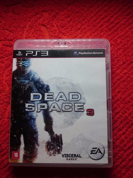 Dead Space 3 Ps3 Midia Fisica Frete R$10