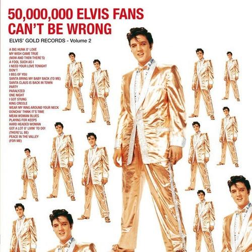 Elvis Presley - 50,000,000 Elvis Fans Can't Be Wrong Vinilo