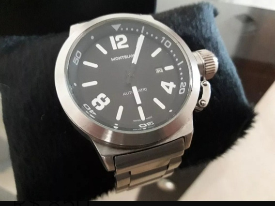 Relógio Montblanc Cromado Masculino
