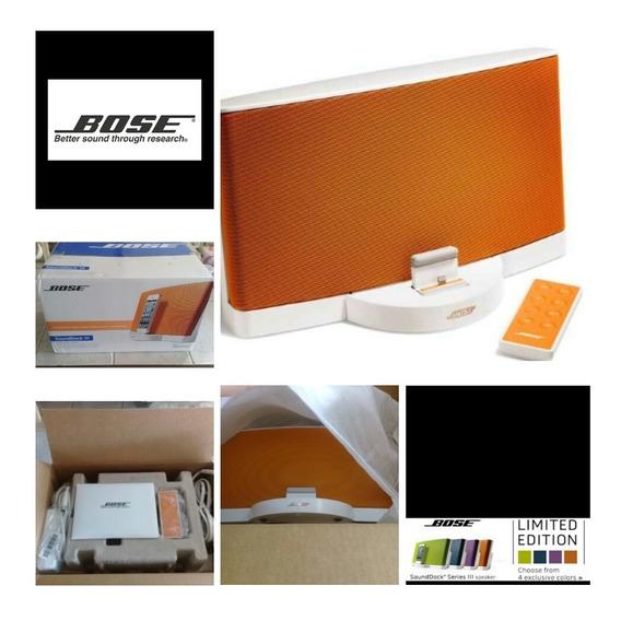 Cornetas Bose Soundock Serie Iii Edición Especial Impecable