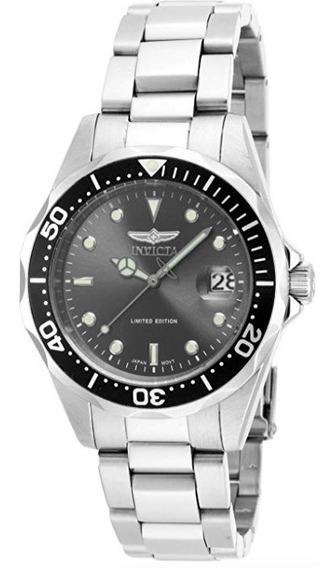 Invicta Pro Diver Relógio Com Pulseira Em Aço Inox - Novo