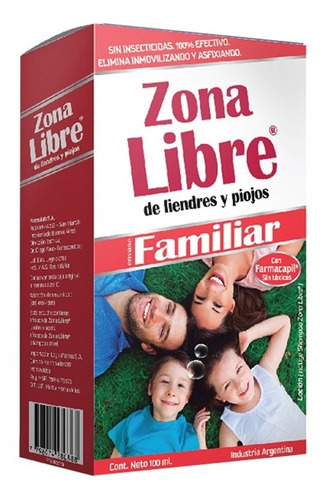 Zona Libre Familiar X 1 Estuche. Directo De Fábrica.