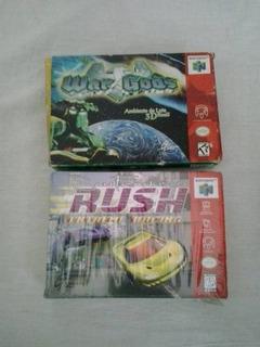 San Francisco Rush War Gods Cartucho Jogo Nintendo 64 N64