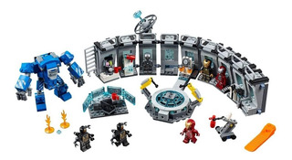 Lego Alternativo Avengers Endgame Sala Armaduras Ironman X8