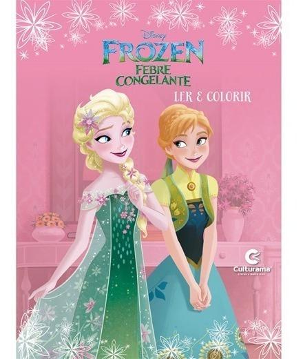Lote 10 Livros Revistas Disney Ler E Colorir Culturama