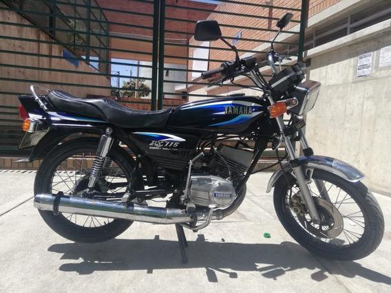 Moto Yamaha Rx 100cc 2004 Barata $1,850.000 Bogota Solo Car