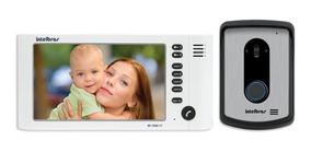 Vídeo Porteiro Intelbras Branco Iv7010 Hf Lcd Colorido 4 Cam