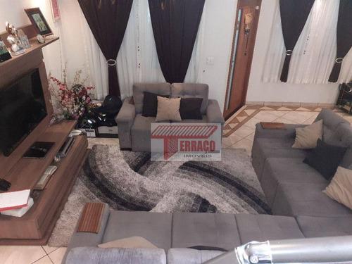 Imagem 1 de 30 de Sobrado Com 3 Dormitórios À Venda, 173 M² Por R$ 615.000,00 - Jardim Teles De Menezes - Santo André/sp - So1153