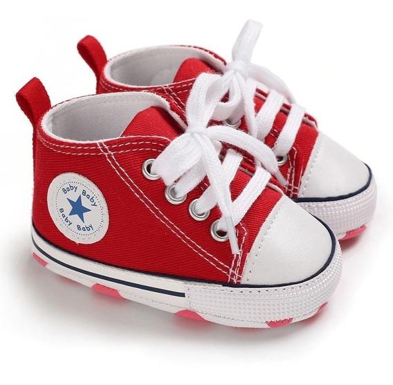 3 Pares All Star Baby Sapatinho Tenis Calçados Bebês Vários