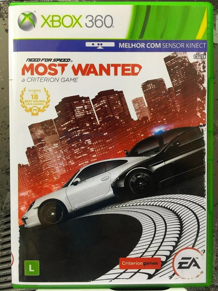 Need For Speed Most Wanted Para Lt3.0 - Midia Fisica