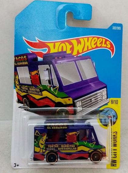 Hot Wheels Quick Bite Taco Truck 2018