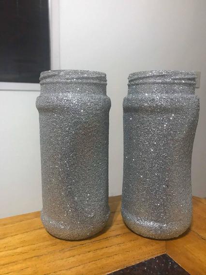 Frascos Glitter Givre