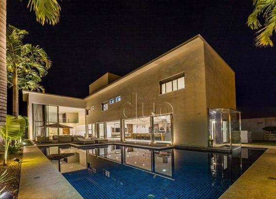 Casa Com 4 Dormitórios À Venda, 389 M² Por R$ 1.850.000,00 - Terras De Artemis - Piracicaba/sp - Ca3243