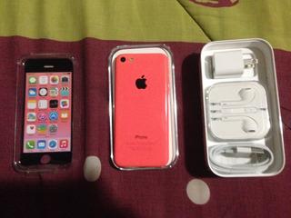 Vendo iPhone 5c Color Coral, Estética 9.5