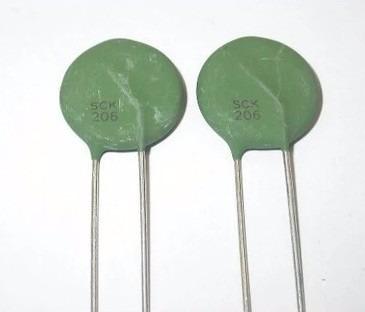 Resistor Térmico Sck206 20ohm 6a Sck20206 6 Pç
