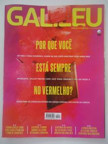 Galileu #291 Por Que Você Está Sempre No Vermelho