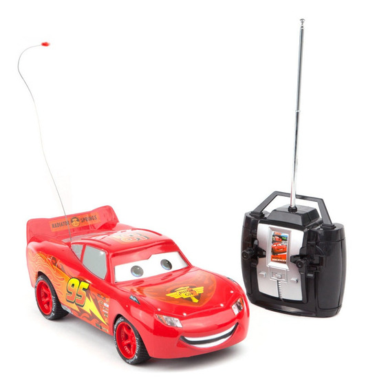 Cars Rayo Mc Queen Auto A Radio Control Original Ditoys