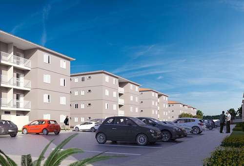 Apartamento Pronto Para Venda No Parque Ribeirão Avenida Dos Andradas, Parque Dos Cedros, 2 Dormitorios, 48 M2, Documentacao Gratis. - Ap00639 - 32315983