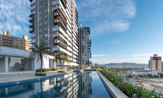 Apartamento Em Petrópolis Com 1 Dormitório - Rg29