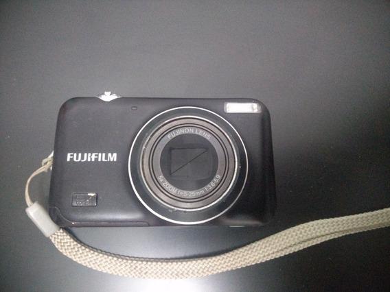 Câmera: Marca Fujifilm Com Bateria Energia Bolsa