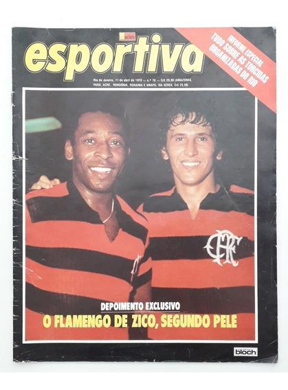 Revista Manchete Esportiva Número 78 - 11/04/1979