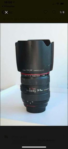 Lente Canon 24-70 2.8 Revisada
