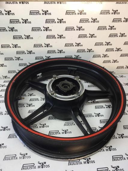 Roda Traseira Preta Honda Cb 300 Original
