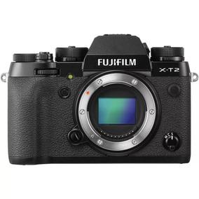 Câmera Fuji Xt2 Mirrorless Filma Em 4k Corpo