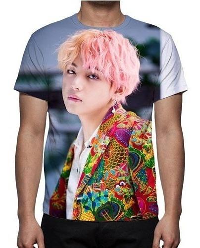 Camisa, Camiseta Bts (bangtan Boys) V Mod 02 - Promoção