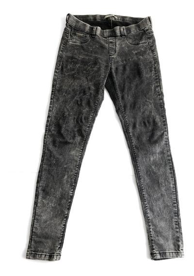 Jeans Mujer Chupin Elastizado Talle 28 Marca Pull & Bear Usa