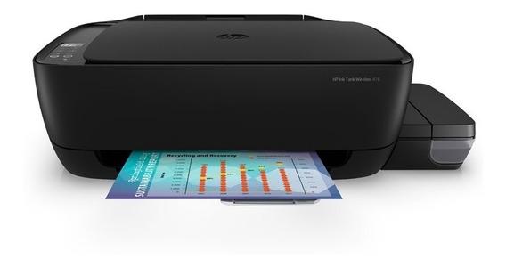 Multifuncional Jato De Tinta Color Hp Ink Tank Wireless 416