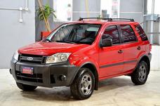 Ford Ecosport 1.6 Xl Plus 4x2 2008 Con Gnc 5ptas Color Rojo