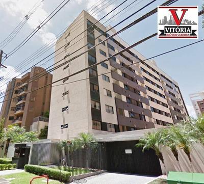 Apartamento 7º Andar, À Venda, R$ 450.000 - Bigorrilho - Curitiba/pr Prox Faculdade Evangélica, Condor Hipermercado, Panificadoras, Farmácias, Bancos - Ap1394