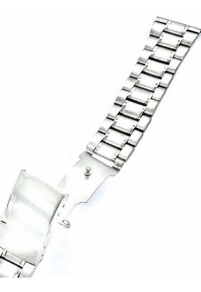 Pulseira Aço Relógio 20mm Orient Seiko Universal Série Prata