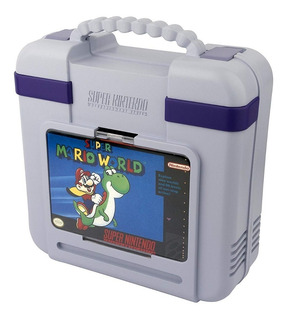 Estuche Funda Maleta De Viaje Consola Snes Mini Nintendo Pdp