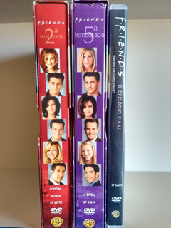 Box Dvd Friends Seriado Cada Temporada Completa (original)