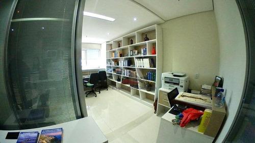 Sala Para Alugar, 38 M² Helbor Dual  - Patteo Mogilar - Mogi Das Cruzes/sp - Sa0018