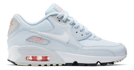 Zapatillas Nike Air Max 90 Leather Niño 6989