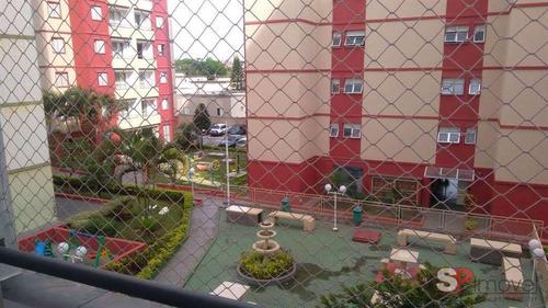 Imagem 1 de 14 de Apartamento Com 03 Dormitórios E 01 Vaga.