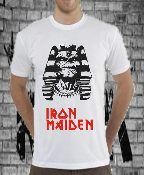 Franelas Rock Iron Maiden