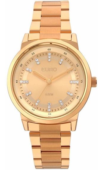 Relogio Euro Feminino Eu2036ylg/4x Rosê Gold Lançamento