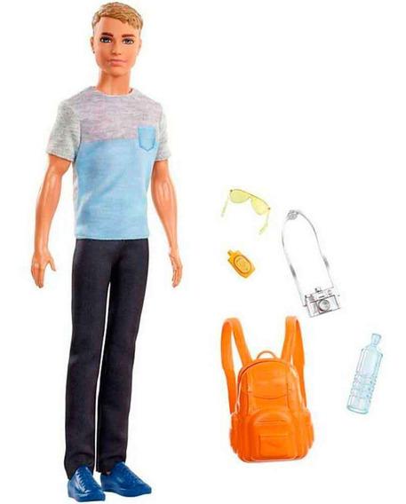 Boneco Ken Fashionistas Explorar Descobrir Mattel