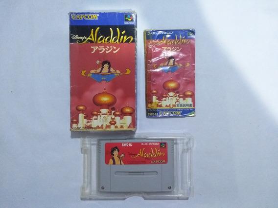 Aladdin Japonês Original Snes - Super Nintendo