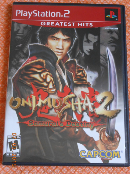 Onimusha 2 Samurai´s Destiny ( Game Original Playstation 2 )
