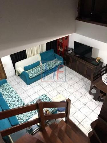Imagem 1 de 9 de Ref 11.323 Excelente Sobrado Vila Antonieta Em Condomínio, 2 Dorms, Lavabo, 2 Vagas, 90 M² Lazer. - 11323
