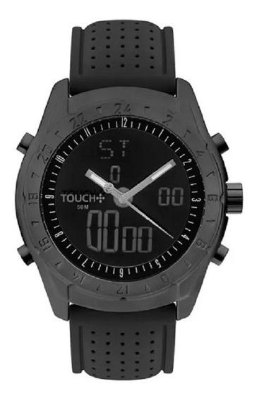 Relógio Touch Unissex Performa Preto