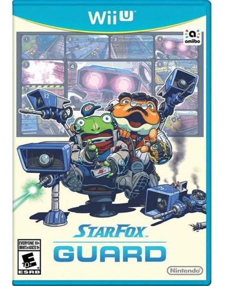 Star Fox Guard Wii U Mídia Física Novo Lacrado Original