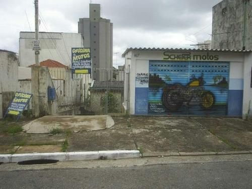 Imagem 1 de 7 de Terreno À Venda, 600 M² Por R$ 2.200.000,00 - Vila Oratório - São Paulo/sp - Te0115