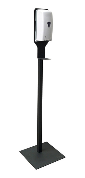 Pedestal Sary Para Dispensador Gel Antibacterial Negro